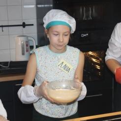 Готовим тесто детский кулинарный мастер-класс блинчики по-фински Мега Самара